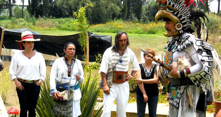 """El Festival """"Jiva kaay""""sembrando rezos de unidad"""